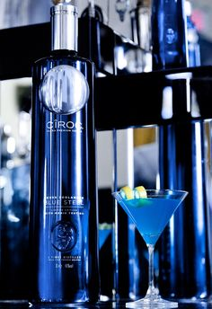 CIROC vodka and Derek Zoolander have launched a limited edition Blue Steel Vodka bottle with photography by Maria Testino.