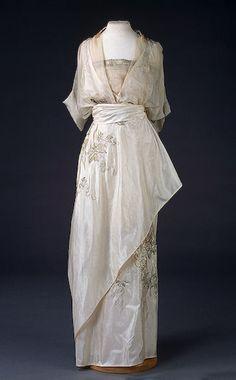 Evening Dress , 1910s
