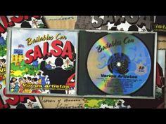 BAILABLE CON SALSA CD MIX