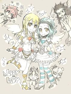Fairy tails little fairies!!!!!!!!!!!!