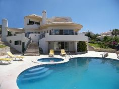 Luxury Pool Villa in Albufeira,  Central Algarve, Portugal, 10 Pax StandartHoliday Rental in Albufeira Town and Marina from @HomeAway UK #holiday #rental #travel #homeaway