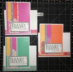 CarliesCraftCafe CTMH Dream Pop cards for Administrative Professionals Day, inside is a pocket for a gift card