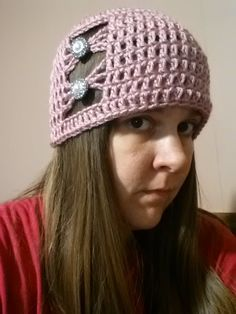 #Crochet Quick and Easy Beanie Hat #TUTORIAL