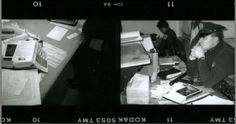 """Antony"", 1999 Life size barite print."