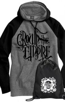 Logo Hoodie + Cinch Bag Outerwear - Crown The Empire Outerwear - Online Store on District Lines NEEED THIS!!!
