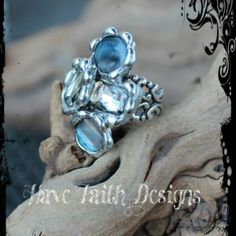 """""""Sounds of the Sea"""" Ring by Have Faith Designs"""