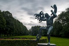 Man and Children by Ole Morten Eyra