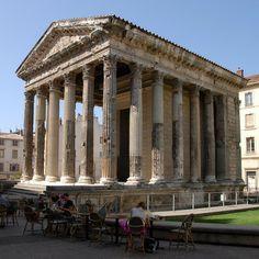 Roman Temple d'Auguste in Vienne, France