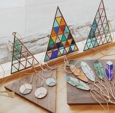 beautiful stained glass pieces available at General Store