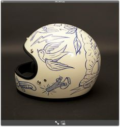Casque / helmet biltwell / Design : Bruno allard pour gentlemen's Factory / Photo : laurent-scavone-photos.com