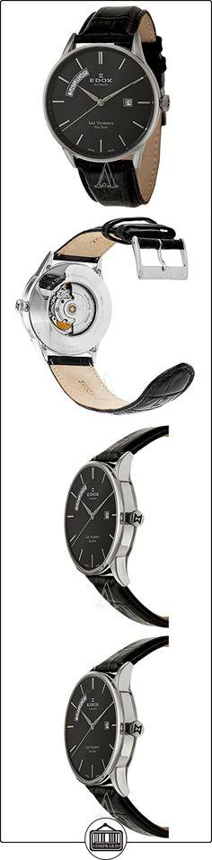 Edox Les Vauberts Día Fecha Automático Reloj Automático para Hombre 83010-3N-NIN  ✿ Relojes para hombre - (Lujo) ✿