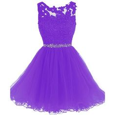 Clearbridal Women's Sequins Backless 2018 Homecoming Dresses Short... ($90) ❤ liked on Polyvore featuring dresses, gowns, short purple dresses, prom dresses, purple homecoming dresses, prom gowns and short sequin dress