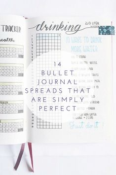 These bullet journal spreads are amazing! I'm so glad I found these AWESOME bujo spreads! Now I have some GREAT bujo spreads to try today! I've been wanting to try tbullet journaling! So pinning this! #bulletjournal #bujo #timemanagement #habit