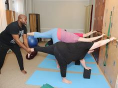 Michael Hayes of Buddha Body Yoga in NYC