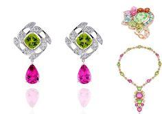 Peridot jewelry: Boodles, Dior Granville, Bulgari Diva Collection  #Dior #peridot #jewelry #ring #necklace #granville #diva #bulgari #Boodles