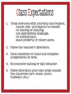 Discipline/Behavior Plan for Upper Elementary Grades - Edi