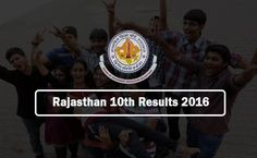 Rajasthan Board 10th Result 2016