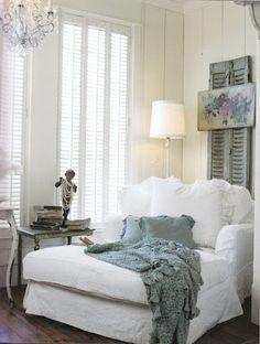 Reading corner Me gusta la combinación de blanco con gris
