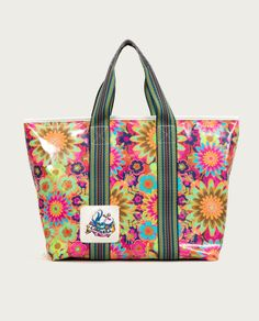 I want it!! Gotta have it!! Consuela - Mod Floral Zipper Tote, Legacy Collection, $128.00