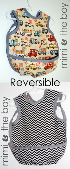 Reversible Baprons with reversible crumb catchers! Custom requests!