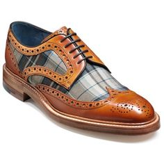 Barker Blair. Brogue / Derby / Fashion. Price: 255 GBP. Free UK Shipping. Free shoe trees. This striking derby brogue shoe comprises top quality calf leather and a st...