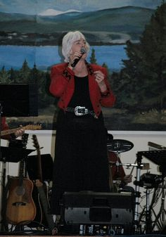 Lynda Krauza of the Westbank Opry