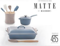 Enter to win a Le Creuset Matte Prize Package ($380 value)