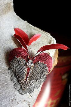 Hearts - Red, Silver