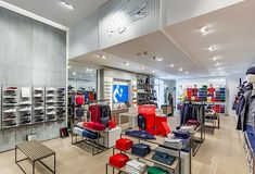 28b9f2c173aa3 DesignLSM has redesigned the interiors of the Lacoste store in Westfield  Stratford City
