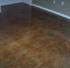 How to Acid Stain Concrete - Alternative Flooring