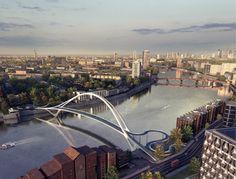 Nine Elms bridge designs