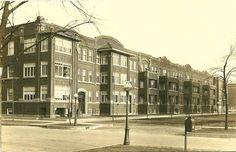Farmor`s bror sin  hustru bodde i Drexel ave. i 1930, med de to yngste barna, Eugene Hilding og Zandra.