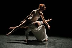 Russell Maliphant and Sylvie Guillem.