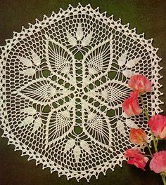 Crochet Art: Crochet Doily Pattern - Gorgeous