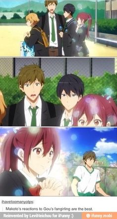 Makoto honey ya need to get used it<<< Oh, it gets worse... XD