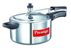 Prestige Nakshatra 11563 Aluminum Pressure Cooker 4Liter ** Click on the affiliate link Amazon.com on image for additional details.