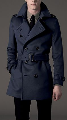 Burberry - WOOL TRENCH COAT