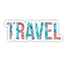 Lilly Pulitzer Travel Sticker