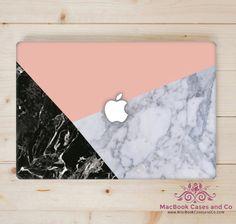 Marble MacBook Case - Top (printed) and Bottom (clear) Hard Plastic MacBook Case by MacBookCasesandCo on Etsy Apple Laptop Macbook, Macbook Skin, Computer Case, Laptop Computers, Laptop Case, Apple Computers, Macbook Pro Tips, Marble Macbook Case, Macbook Accessories