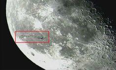 Misterios del Aire: Una flotilla de OVNIs en la Luna