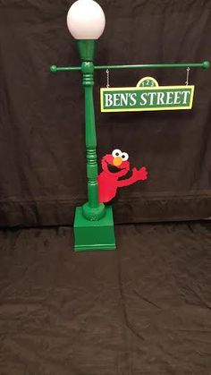 Sesame Street Lamp Post