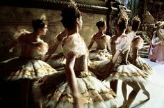 Backstage at the Ballet