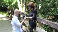 She said yes... on Vimeo #wedding #engaged #engagement #isaidyes #lovehim #ring #bridetobe #mountains #bridge #surprise #ring #september
