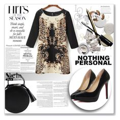 """""""SheIn 6."""" by selmagorath ❤ liked on Polyvore featuring women's clothing, women, female, woman, misses and juniors"""