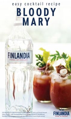 What's brunch without the best savory cocktail?! This recipe for Easy Bloody Mary combines all the classic ingredients—Finlandia Vodka, tomato juice, hot sauce, horseradish, and more. Plus, with inspiration for the most delicious garnish of mozzarella, salami, and olives, it's not hard to see why this drink will be a hit with your friends!