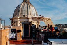 Eitch Borromini: Rome's Stunning Rooftop Restaurant 'La Grande Bellezza'
