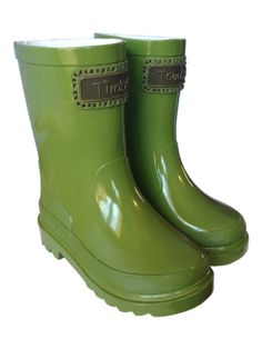 Timber &amp Tamber Rain Boots Rubber Gumboots Yellow. $87.00. Girl