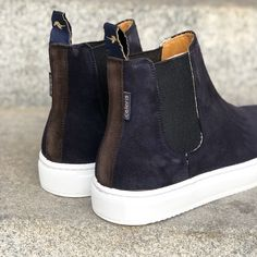 Short Boots, Brown Suede, Wedges, Navy, Sneakers, Model, Shoes, Fashion, Tennis Sneakers