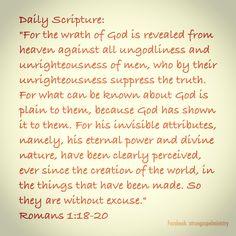 Daily Scripture #atruegospelministry