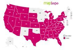 States I've Visited: AL, AR, AZ, CA, CO, CT, DC, DE, FL, GA, ID, IL, IN, KS, KY, LA, MI, MO, MS, MT, NC, NE, NV, NY, OH, OR, PA, SC, SD, TN, TX, UT, VA, WA, WV, WY